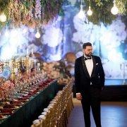 grooms suit, naked bulbs - Royal Blu