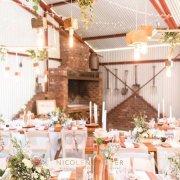 greenery, venue decor - The Red Barn