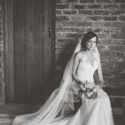 black and white, bride