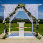 wedding arch - Authentic Planning