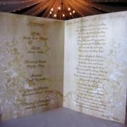 gold, wedding stationery - Sue\