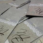 wedding invitation, wedding stationery - Sue\