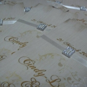 cream, wedding invitation, wedding stationery - Sue\