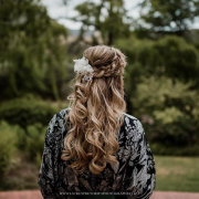 bridal hair, bridal hair accessories - Elizabeth Rae Makeup