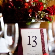 table numbers - Skilpadvlei Wine Farm