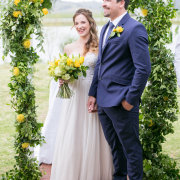 wedding arch - Skilpadvlei Wine Farm