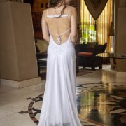 open back, open back wedding dress, wedding dresses, wedding dresses, wedding gowns - Thomas Thomson Haute Couture