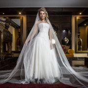 veil, veils, wedding dresses, wedding dresses, wedding gowns - Thomas Thomson Haute Couture