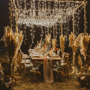 fairy lights, wedding decor - Mosaic Lagoon Lodge