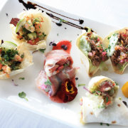 canapes - The Alba Restaurant