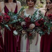 bouquets, bridal bouquet, proteas - Anna Botany