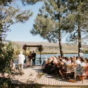 outdoor ceremony, overberg wedding venue - Old Mac Daddy