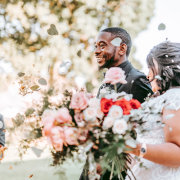 bouquets, bride and groom, bride and groom - Cape Image Co.