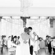black and white photography, first dance - Oxbow Country Estate