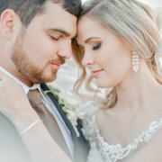 bride and groom, bride and groom, earings - RDK Photography