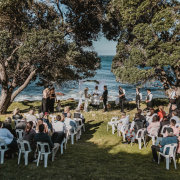 outdoor ceremony, intimate wedding venue - The Black Marlin