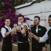groom and groomsmen - The Black Marlin