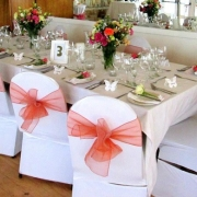 decor, reception, table setting