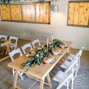 floral decor, hanging greenery - Goedgedacht Game Ranch