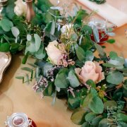 floral centrepieces - Goedgedacht Game Ranch