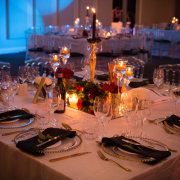 table decor with candles - Pink Diamond Events