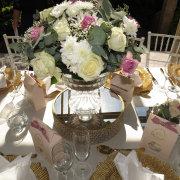floral center piece - Pink Diamond Events