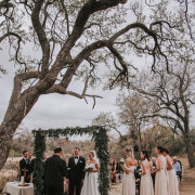 ceremony outside, safari weddings - Thornybush Game Lodge
