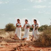 bridesmaids, bridesmaids, parasol - Sweetfontein Boutique Farm Lodge
