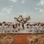 ceremony outside - Sweetfontein Boutique Farm Lodge