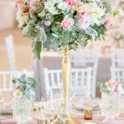 floral centrepieces - Charm & Perfection Planning