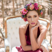 bridal makeup, flower crowns - Charm & Perfection Planning