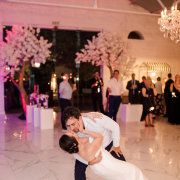 bride and groom, bride and groom, first dance - Charm & Perfection Planning