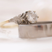 diamond ring, gold, silver, wedding ring