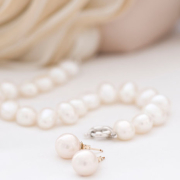 pearls, white