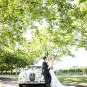 bride and groom, bride and groom, bride and groom, car, winelands - Lanzerac Hotel & Spa