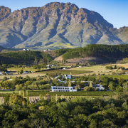 mountain view, winelands - Lanzerac Hotel & Spa