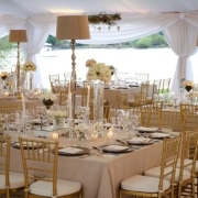 white, white wedding - The Tablecloth Hiring Company