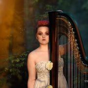 entertainment, hair, hair, hair, harp, makeup, music - Jude Harpstar
