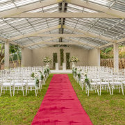 outdoor ceremony, outside ceremony - Meander Manor