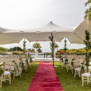 marquee, outdoor ceremony, outside ceremony - Meander Manor