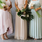 bridal wear, flowers - Jacoba Clothing