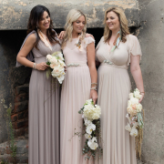 bouquet, bridesmaids dress - Jacoba Clothing