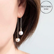 bridal accessories, earrings - Beyond Bridal Boutique