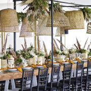 hanging decor, hanging greenery - The Polo Room