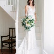 bouquets, wedding dresses