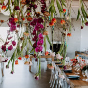 hanging florals - Jané Ulla Photography
