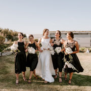 bride and bridesmaids, bridesmaids dresses, bridesmaids dresses - Jané Ulla Photography