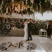 bride and groom, bride and groom, first dance, floral decor, hanging decor - Neo Venue Space