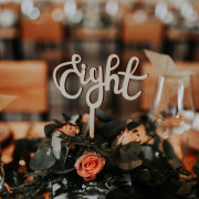 flowers, roses, table decor, table number