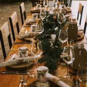 greenery, table decor